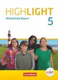 Highlight 5. Jahrgangsstufe- Mittelschule Bayern - Schülerbuch