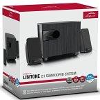 Speedlink - LIBITONE 2.1 Subwoofer System, Lautsprechersystem, schwarz