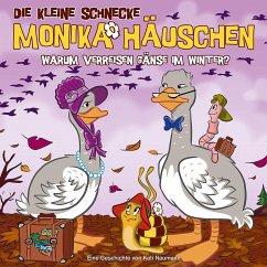 Warum verreisen Gänse im Winter?, 1 Audio-CD / Die kleine Schnecke, Monika Häuschen, Audio-CDs Tl.46 - Naumann, Kati
