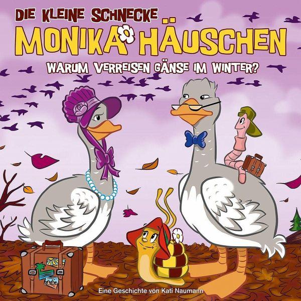 Warum verreisen Gänse im Winter?, 1 Audio-CD / Die kleine Schnecke, Monika … von Kati Naumann ...