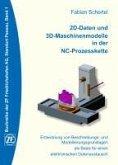 2D-Daten und 3D-Maschinenmodelle in der NC-Prozesskette (eBook, ePUB)
