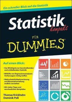 Statistik kompakt für Dummies (eBook, ePUB) - Krickhahn, Thomas; Poß, Dominik