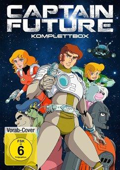 Captain Future - Komplettbox (8 Discs)