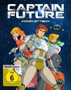 Captain Future - Komplettbox (4 Discs)