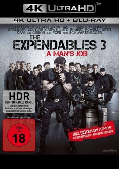 The Expendables 3 - A Man's Job - Stallone/Schwarzenegger/Gibson/Ford/+