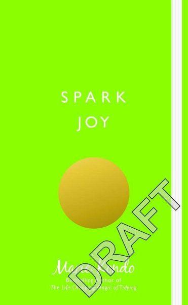 spark joy von marie kondo englisches buch b