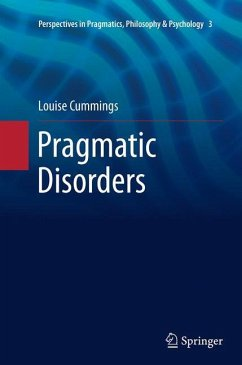 Pragmatic Disorders - Cummings, Louise