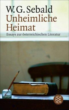 Unheimliche Heimat (eBook, ePUB) - Sebald, W. G.