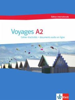 Voyages A2 édition internationale. Cahier d´activités + documents audio en ligne