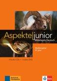 Medienpaket B1 plus, 3 Audio-CDs + Video-DVD / Aspekte junior