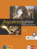 Aspekte junior B1 plus. Kursbuch mit Audio-Dateien zum Download