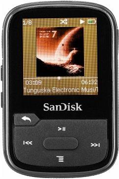 SanDisk Clip Sport Plus 16GB Black SDMX28-016G-G46K