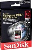 SanDisk Extreme PRO SDXC 64GB 300MB UHS-II SDSDXPK-064G-GN4IN