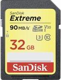 SanDisk Extreme SDHC Video 32GB 90MB/s V30 SDSDXVE-032G-GNCIN