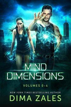 Mind Dimensions Omnibus: Volumes 0-4 (eBook, ePUB) - Zales, Dima; Zaires, Anna
