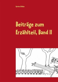 Beiträge zum Erzählteil, Band II (eBook, ePUB)