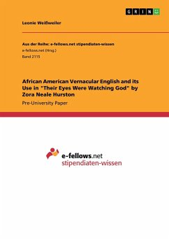 African American Vernacular English and its Use in