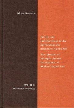 Prinzip und Prinzipienfrage in der Entwicklung ...