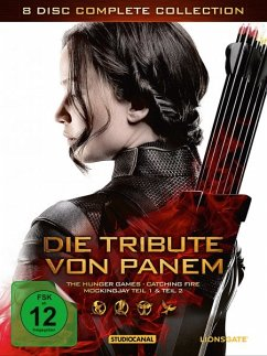 Die Tribute von Panem - Complete Collection (8 Discs) - Lawrence,Jennifer/Hutcherson,Josh