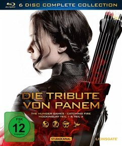 Die Tribute von Panem - Complete Collection (6 Discs, inkl. Blu-ray 3D)