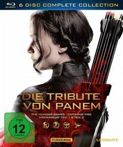 Die Tribute von Panem - Complete Collection (6 Discs, inkl. Blu-ray 3D) - Lawrence,Jennifer/Hutcherson,Josh