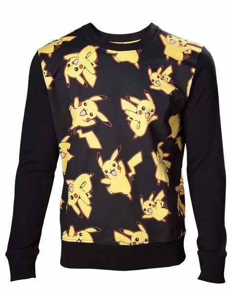 Pokémon Pullover -L- Pikachu all over print