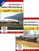 Die Eisenbahn in Baden-Württemberg damals - Teil 1 und Teil 2 im Paket, 2 DVD