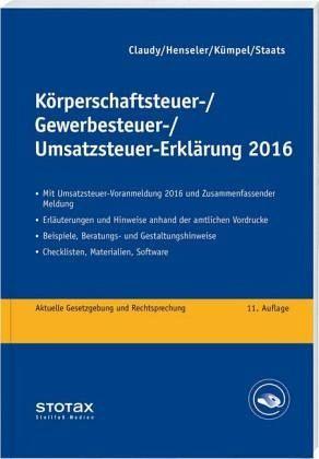 steuer checkliste 2016