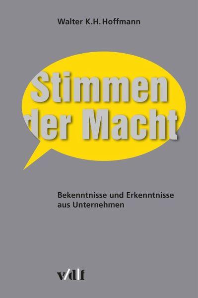 Stimmen der Macht (eBook, ePUB) - Hoffmann, Walter K.H.