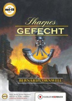 Sharpes Gefecht / Richard Sharpe Bd.12 (1 MP3-CDs) - Cornwell, Bernard