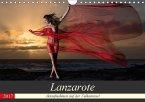 Lanzarote - Aktaufnahmen auf der Vulkaninsel (Wandkalender 2017 DIN A4 quer)