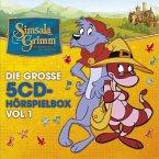 SimsalaGrimm - Die große 5-CD Hörspielbox, 5 Audio-CDs