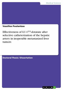 Effectiveness of LU-177-dotatate after selective catheterization of the hepatic artery in inoperable metastasized liver tumors