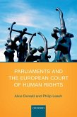 Parliaments and the European Court of Human Rights (eBook, ePUB)
