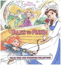 Disney Princess Storybook Collection: Tales to Finish: Color Your Own Storybook Collection! - Disney Book Group
