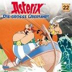Die große Überfahrt / Asterix Bd.22 (1 Audio-CD)