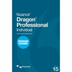 Nuance Dragon Professional Individual 15 - Upgrade von Professional DPI 14 (Download für Windows)