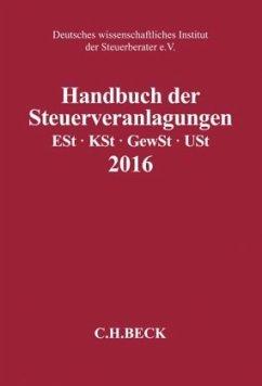 Handbuch der Steuerveranlagungen 2016