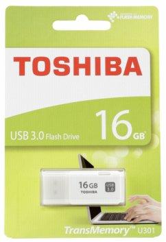 Toshiba Hayabusa USB 3.0 16GB White U301