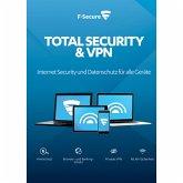 F-Secure Total Security und VPN 2017 5 Geräte / 24 Monate (Download für Windows)
