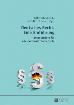 Deutsches Recht. Eine Einführung