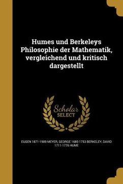 GER-HUMES UND BERKELEYS PHILOS - Meyer, Eugen 1871-1909; Berkeley, George 1685-1753; Hume, David 1711-1776