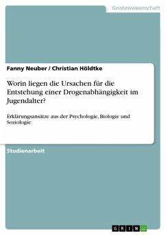 Worin liegen die Ursachen für die Entstehung einer Drogenabhängigkeit im Jugendalter? (eBook, PDF) - Neuber, Fanny; Höldtke, Christian
