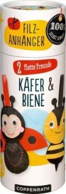 Näh-Set: Filzanhänger 2 flotte Freunde, Käfer &...
