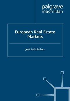 European Real Estate Markets (eBook, PDF) - Suárez, José Luis
