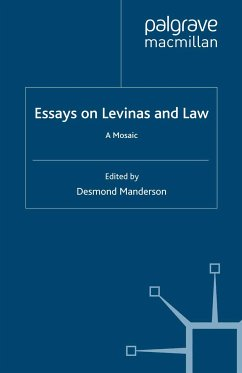 Essays on Levinas and Law (eBook, PDF)