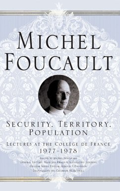 Security, Territory, Population (eBook, PDF)