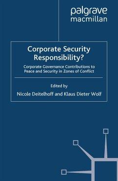 Corporate Security Responsibility? (eBook, PDF)
