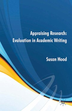 Appraising Research: Evaluation in Academic Writing (eBook, PDF)