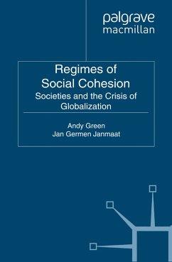 Regimes of Social Cohesion (eBook, PDF)